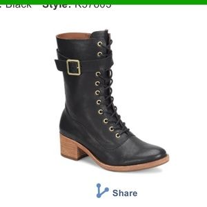Kork Ease Lace Up Leather Boots